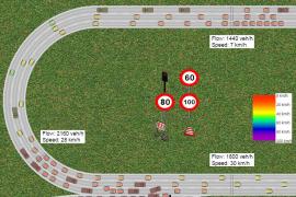 Un simulador muestra cómo será el tráfico en la vía de cintura a 80 Km/h