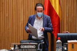 Iglesias anuncia que el Gobierno tendrá en dos semanas una medida antidesahucios