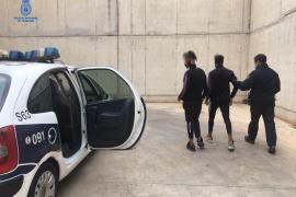 Detenidos tres jóvenes por robos con fuerza en locales de Palma