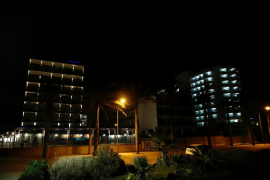 Los hoteles de la Playa de Palma se iluminan por Navidad
