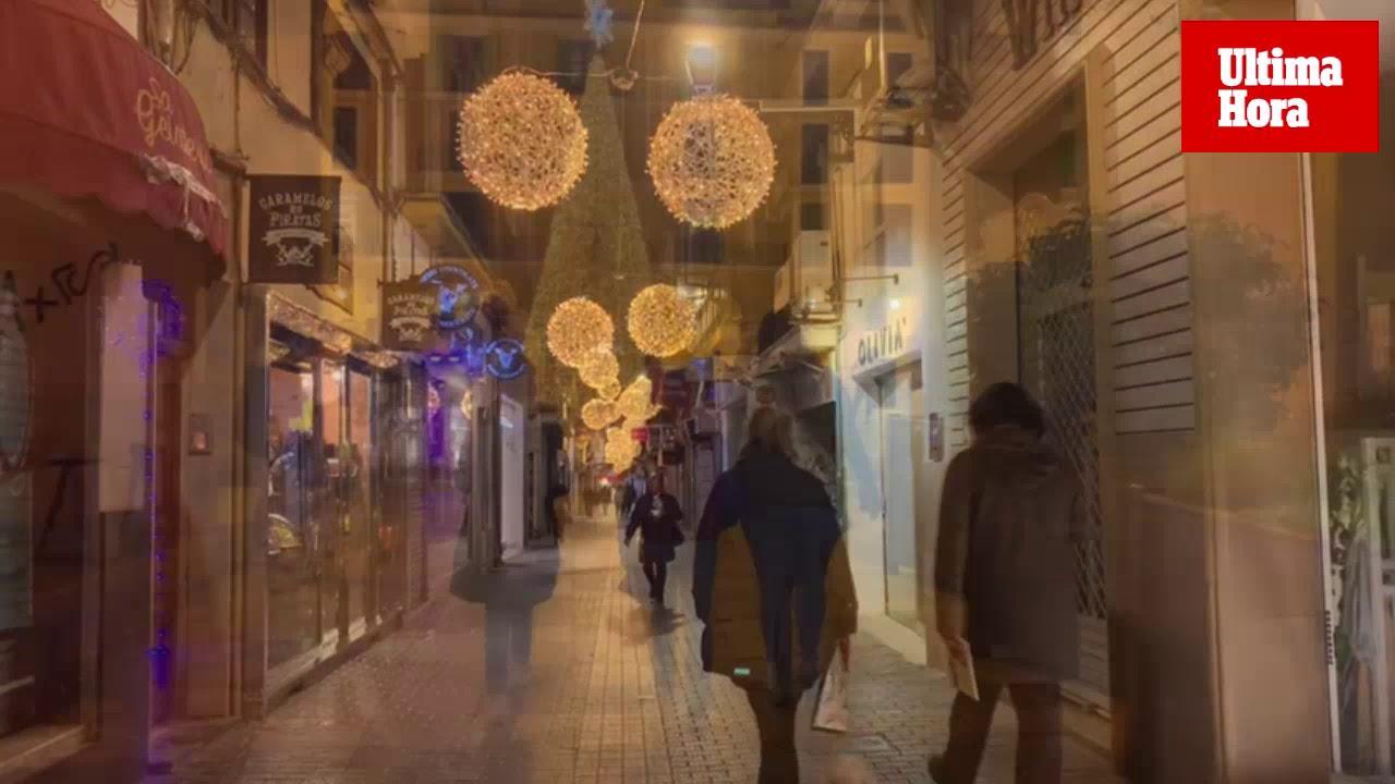 La Navidad se enciende en Palma