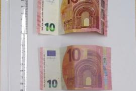 La Policía Local detecta billetes falsos en Selva