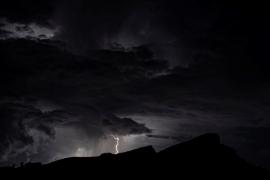 Tormenta eléctrica en Mallorca