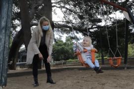 Los niños regresan a los parques de Palma y Marratxí
