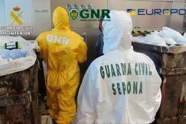 Detenidas 20 personas por gestión irregular de residuos biosanitarios de COVID-19