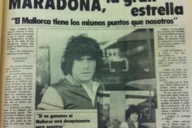 El día en que 'Ultima Hora' entrevistó a Maradona