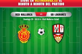 Real Mallorca-Logroñés, en directo
