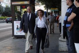 Aina Calvo, de testigo ante el juez del caso Ossifar
