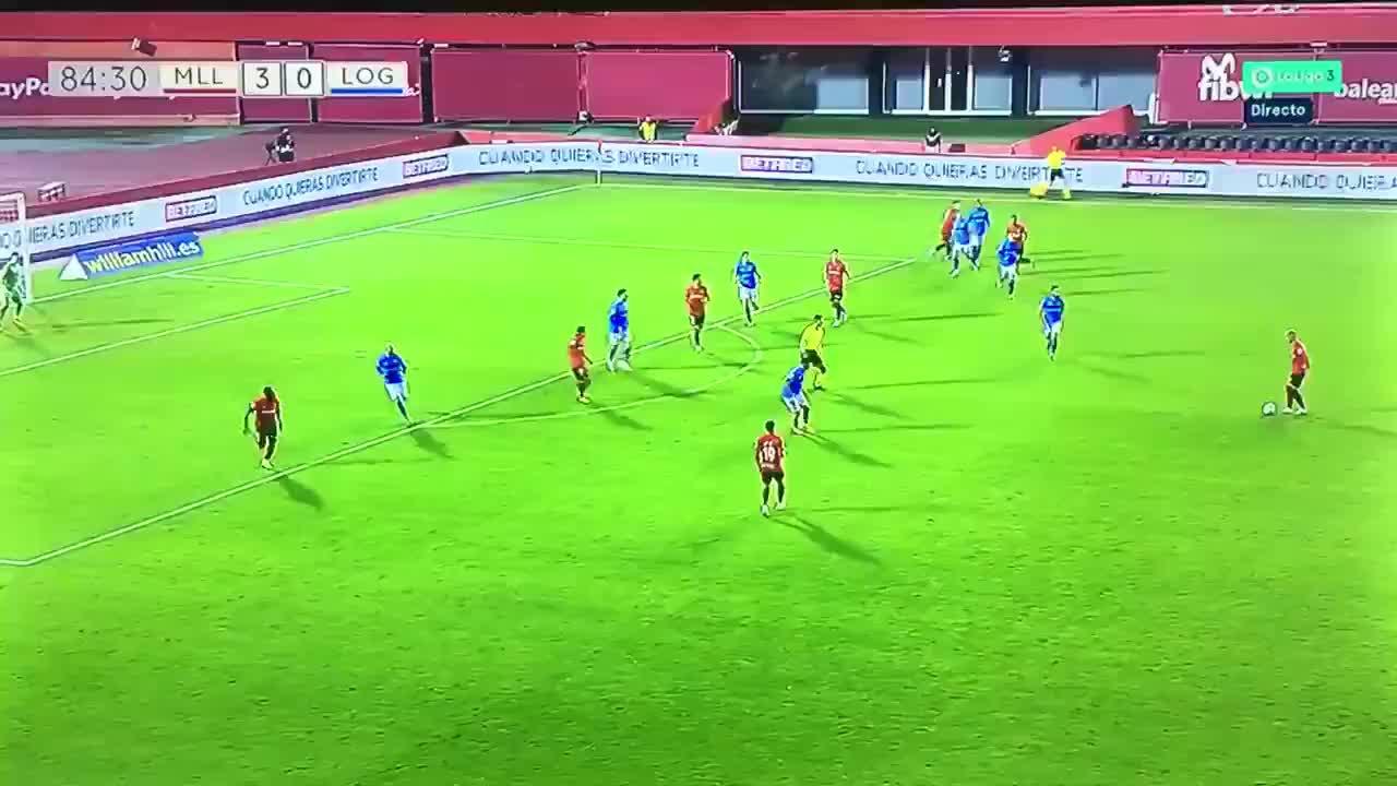 Las lágrimas de Luka por su primer gol con el Mallorca