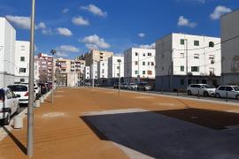 Cort culmina la reurbanización del solar del bloque VIII de Camp Redó