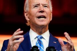 Biden sienta las bases de una investidura atípica