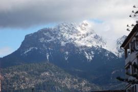 El aire frío polar traerá a Mallorca la primera nevada del otoño
