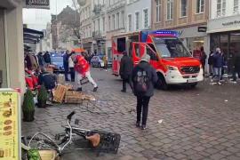 Al menos 5 muertos, entre ellos un bebé, en un atropello en una zona peatonal de Tréveris en Alemania