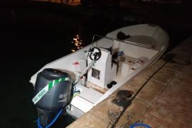 Interceptados 21 migrantes en una patera en ses Salines