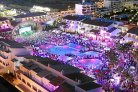 Imagen de una fiesta en Ushuaïa Ibiza Beach Hotel
