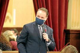 El diputado de Ciudadanos Maxo Benalal, ayer, en el Parlament