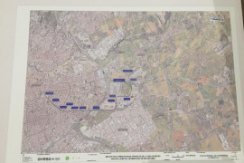 El tranvía a Son Espases irá junto a la vía del tren de Sóller