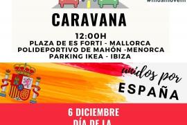 Vox y Foro Baleares organizan dos movilizaciones diferentes para celebrar el Día de la Constitución