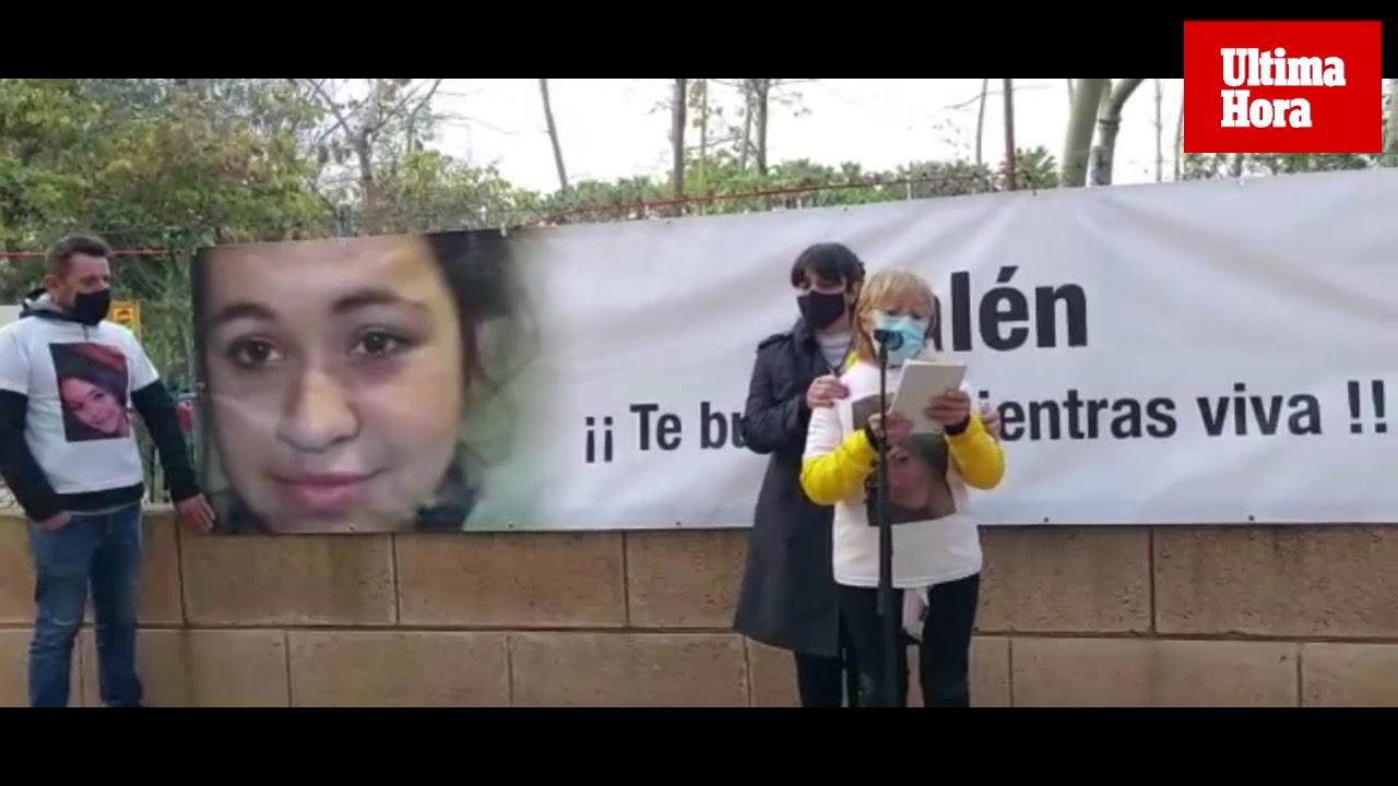 Emotiva concentración en recuerdo de Malén Ortiz