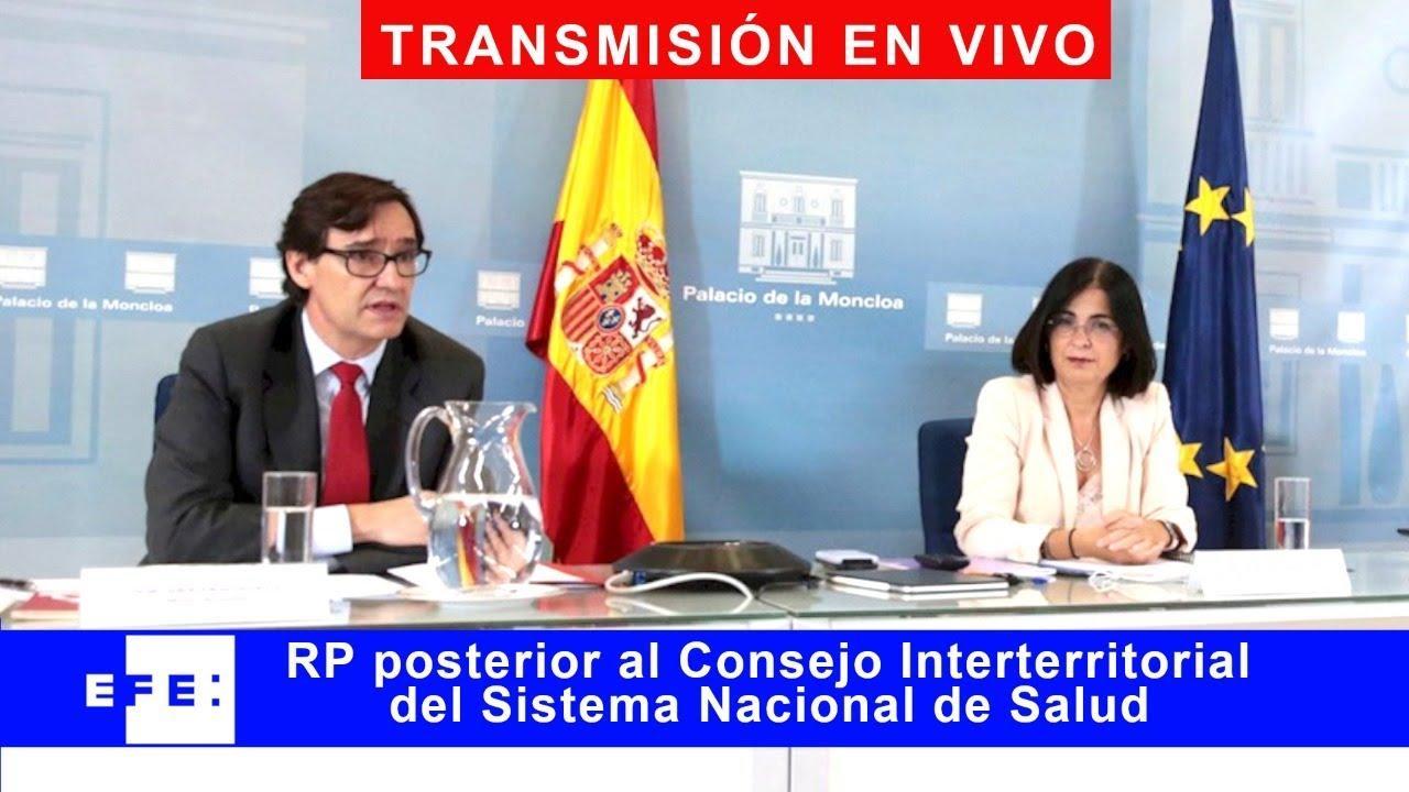 Así ha sido la rueda de prensa de Illa para explicar cómo será la Navidad en España