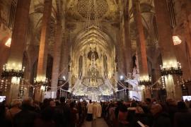 La Catedral de Mallorca celebrará las 'Matines' a las 19.00 horas y con un aforo máximo de 400 personas