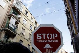 El Gobierno paralizará los desahucios mientras dure el estado de alarma