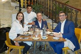 Cena con Lucrecia y Vincent