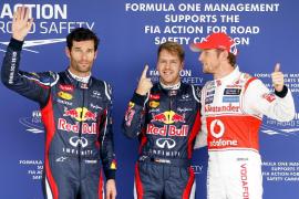 Vettel saldrá desde la 'pole' en Suzuka y Alonso sexto