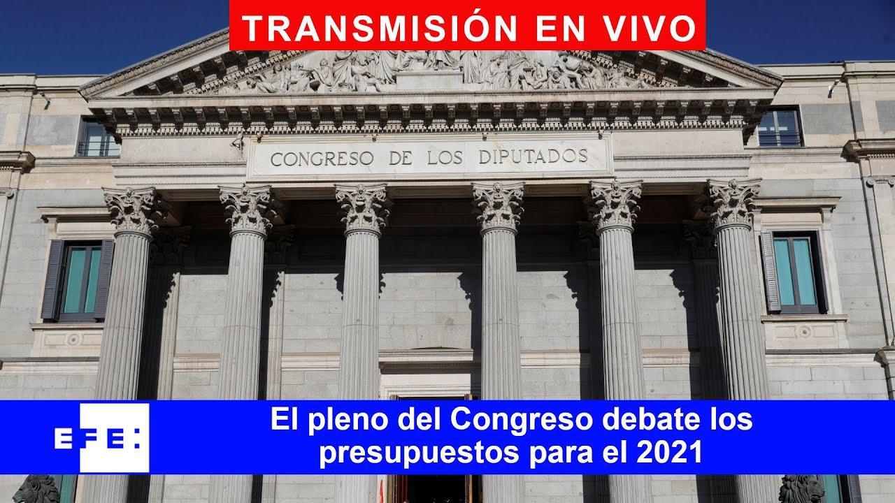 DIRECTO | El Congreso vota los presupuestos