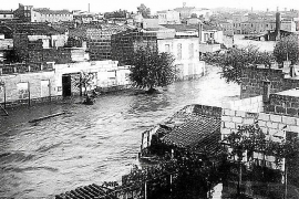 «El agua arrastraba animales muertos»