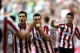 Un gol de Aduriz decide un partido espectacular