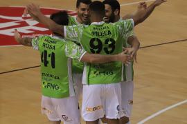 El Palma Futsal reafirma su liderato ante el O'Parrulo