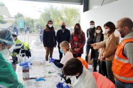 Solo 6 positivos entre las más de 1.000 pruebas a residentes que regresaron a Baleares durante el puente