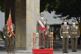 La Infantería de Mallorca celebra la Inmaculada Concepción sin autoridades civiles