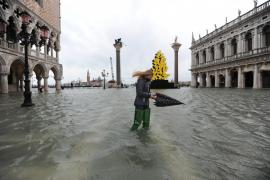 Venecia se inunda y el sistema de diques no se activa