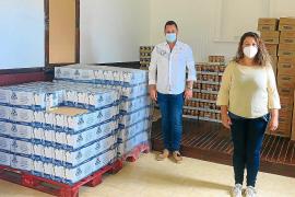 La demanda de alimentos para familias de Santa Margalida se incrementa un 68 %