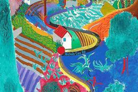 Récord mundial en una subasta para un paisaje de Hockney, en Nueva York