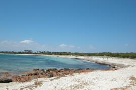 Hallan el cadáver de un hombre en la playa de Es Caragol
