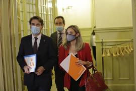 Govern y Cs pactan una rebaja del plus para los altos cargos que quedará en 18.000 euros