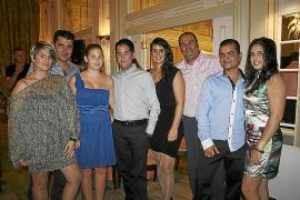 El restaurante Bahía Mediterráneo acoge la cena del Cheval Français