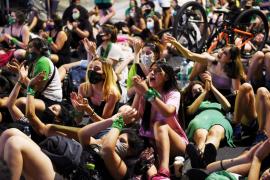 Argentina regresa a la calle por el debate de la ley del aborto