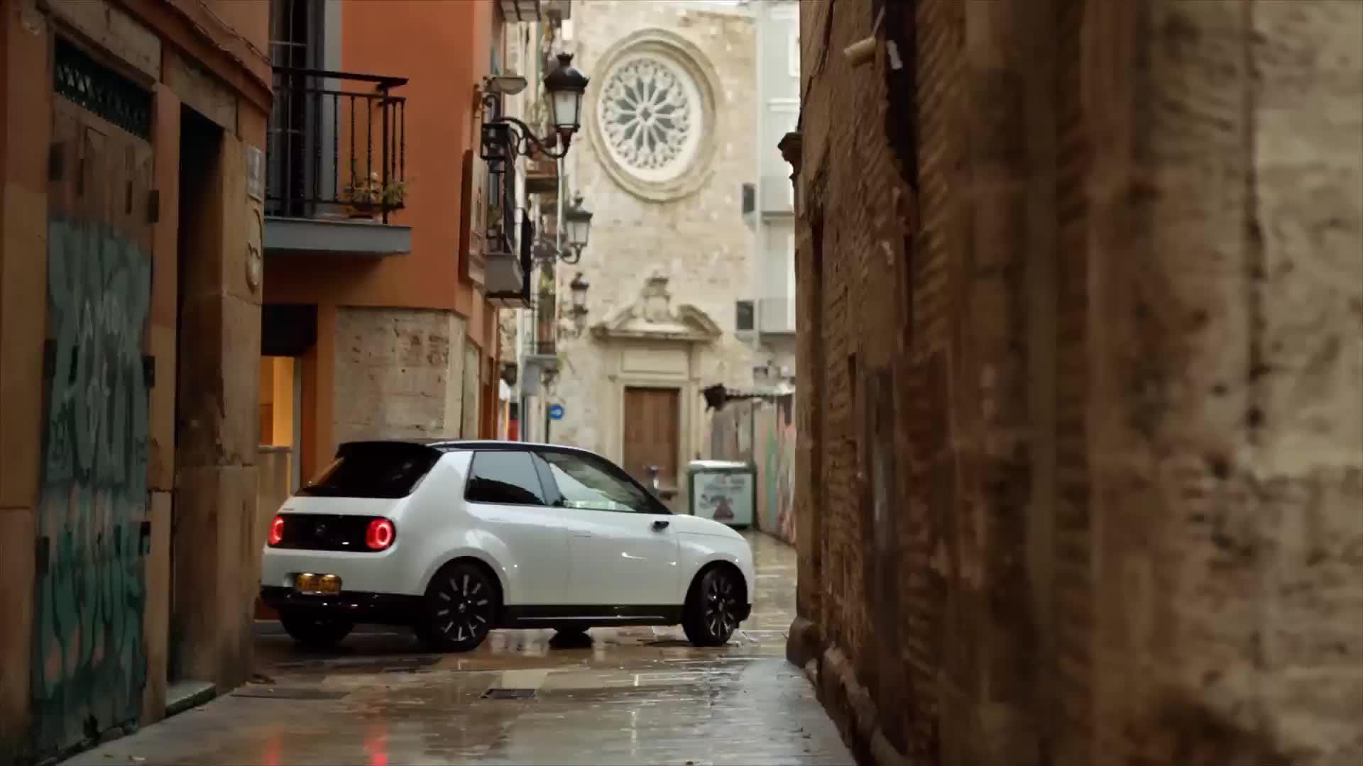 Honda-e, un vehículo japonés que brilla en Europa