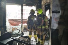 Muere un niño de 3 años en el incendio de su vivienda en Valencia