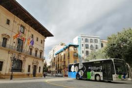 Palma perdió más de la mitad de usuarios de bus en octubre con respecto a 2019