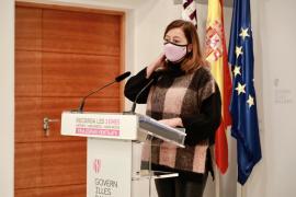 Armengol advierte que el lunes se podrían aumentar las restricciones en Mallorca