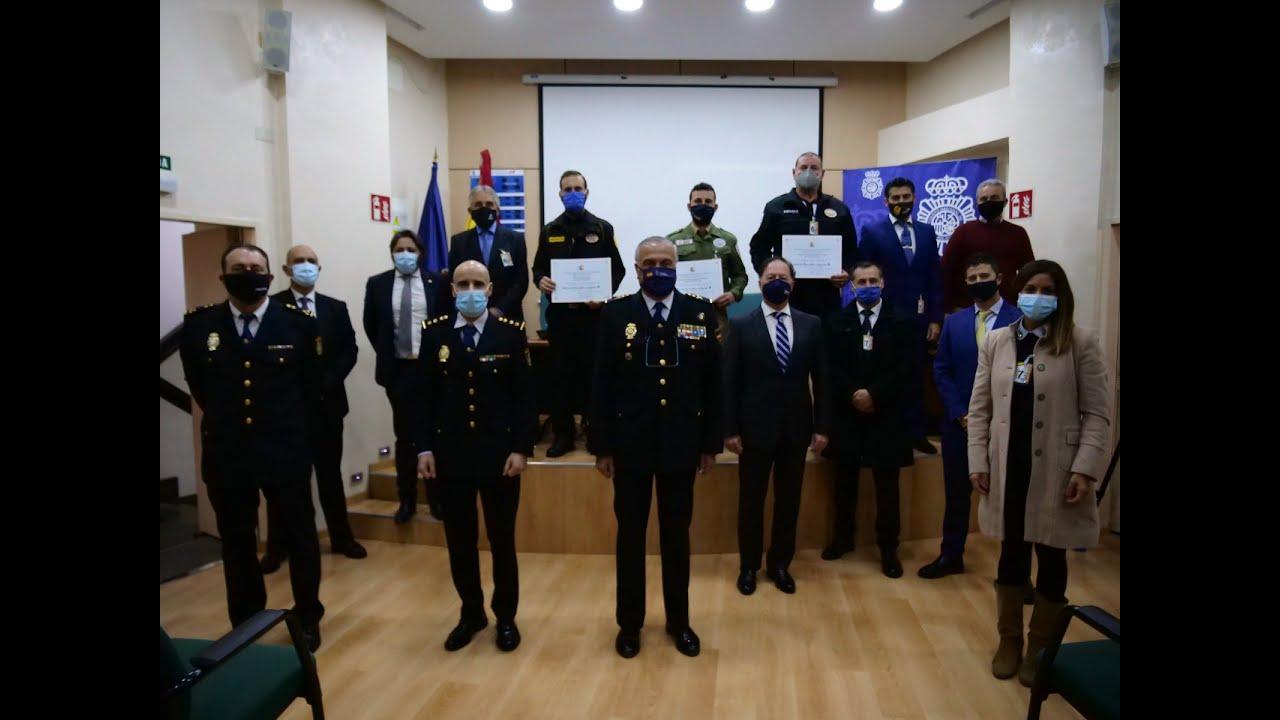 La Policía entrega cinco menciones honoríficas al sector de la Seguridad Privada en Baleares