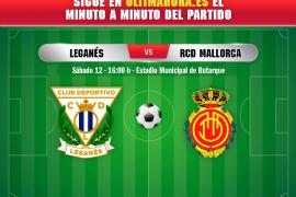 DIRECTO | CD Leganés-Real Mallorca