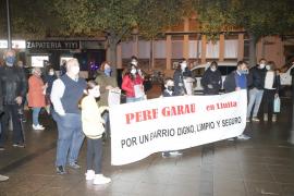 Residentes en Pere Garau, en lucha por tener un «barrio digno»