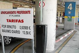 AENA ha subido más de un 13 % algunas tarifas del aparcamiento de Son Sant Joan