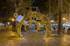 Cort apagará las luces de Navidad a las 22.00 horas en las principales calles comerciales de Palma